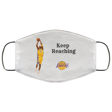 Keep Reaching Laker's Face Mask - OMG I Really Want That