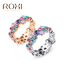Colorful Ring in Classic  Rose Gold And White Gold - OMG I Really Want That