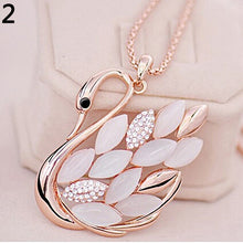 Women Fashion Sweater Chain Necklace Rhinestone Owl Pendant - OMG I Really Want That