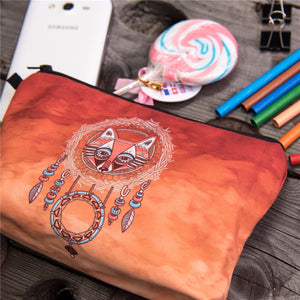 Fox totem 3D Printing cosmetic bag - OMG I Really Want That