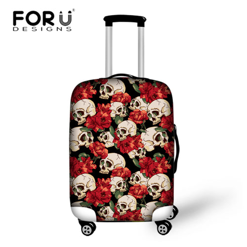 Skull Protective Covers for Suitcases Travel Luggage - OMG I Really Want That