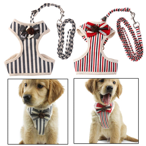Vest Harness Reflective Bow Pet Leash - OMG I Really Want That
