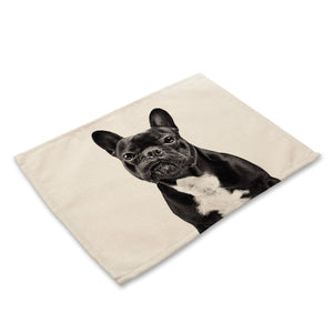 Bulldog lovers can keep their best friend close with these Cotton Linen Pads - OMG I Really Want That