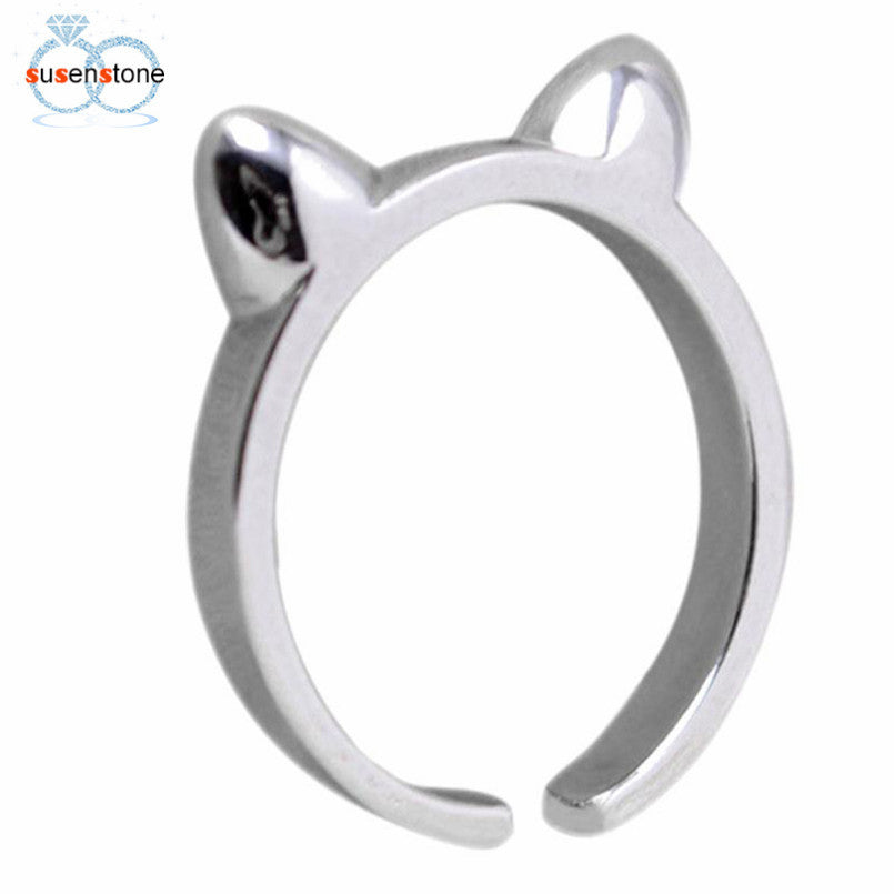 Attractive Lady Cat Ears  Rings -  Christmas Gifts - OMG I Really Want That