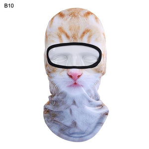 3D l Cat & Dog Snowboard Full Face Masks - OMG I Really Want That