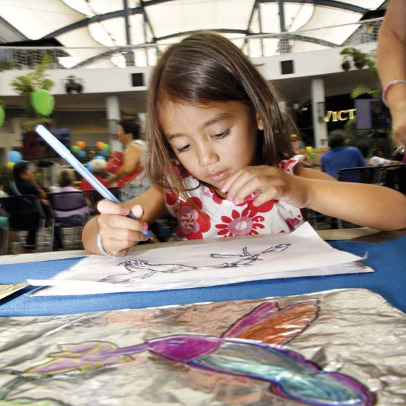 The Maui News Feature - Tracing, an artistic endeavor