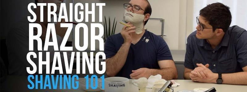 Shaving 101: How to Shave with a Straight Razor-West Coast Shaving