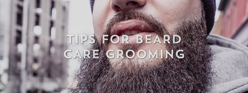 Tips for Beard Care Grooming-West Coast Shaving