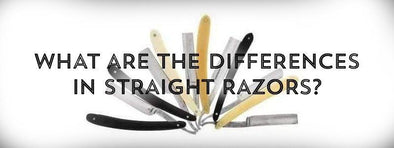 What Are The Differences in Straight Razors?-West Coast Shaving