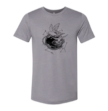 Load image into Gallery viewer, Tamora Pierce: Faithful & Dust Spinners Triblend Tee