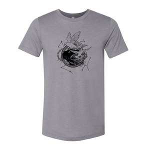 Tamora Pierce: Faithful & Dust Spinners Triblend Tee