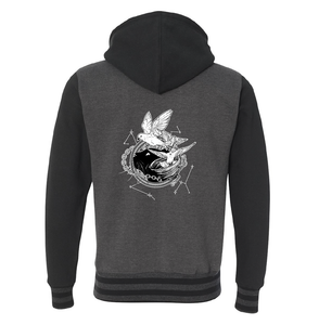 Tamora Pierce: Faithful & Dust Spinners Varsity Hoodie