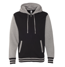 Load image into Gallery viewer, Tamora Pierce: Faithful & Dust Spinners Varsity Hoodie