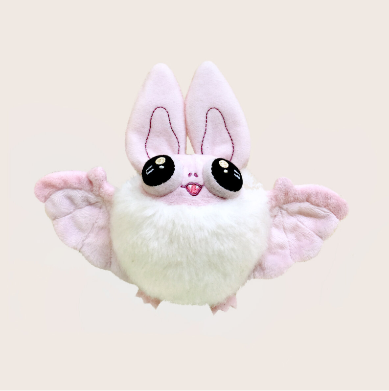 Heather Sketcheroos: Floof the Bat Plush