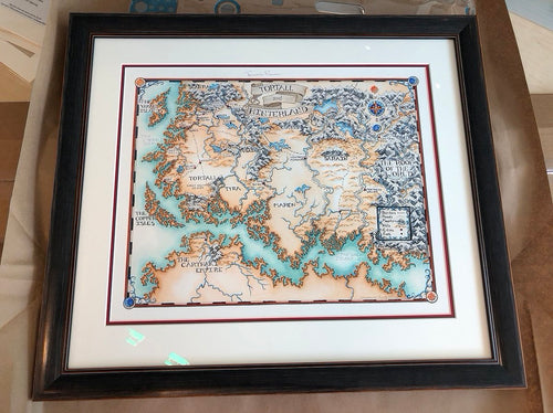 TAMORA PIERCE: Tortall Map