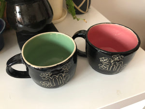 Zodiac Collection: Handmade Zodiac Mugs