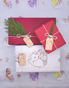 Heather Sketcheroos: Gift Wrapping Kit