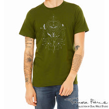 Load image into Gallery viewer, Tamora Pierce: Daine Heraldry T-Shirt
