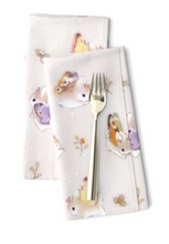Load image into Gallery viewer, Heather Sketcheroos: Woodsy Jackalopes Table Napkins