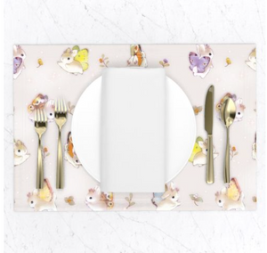 Heather Sketcheroos: Woodsy Jackalopes Placemats