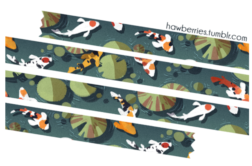 Koi Tape by Hawberries