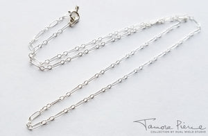 Tamora Pierce: Silver Badger Claw Necklace