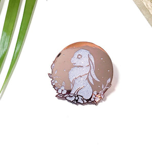 Moon Rabbit Pin by Frenone