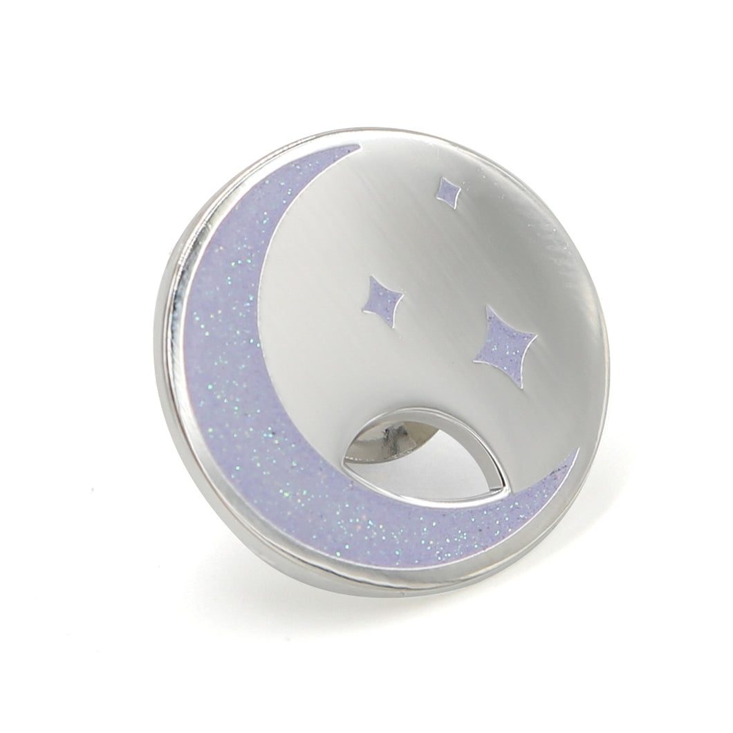 Moon and Stars Charm Pin