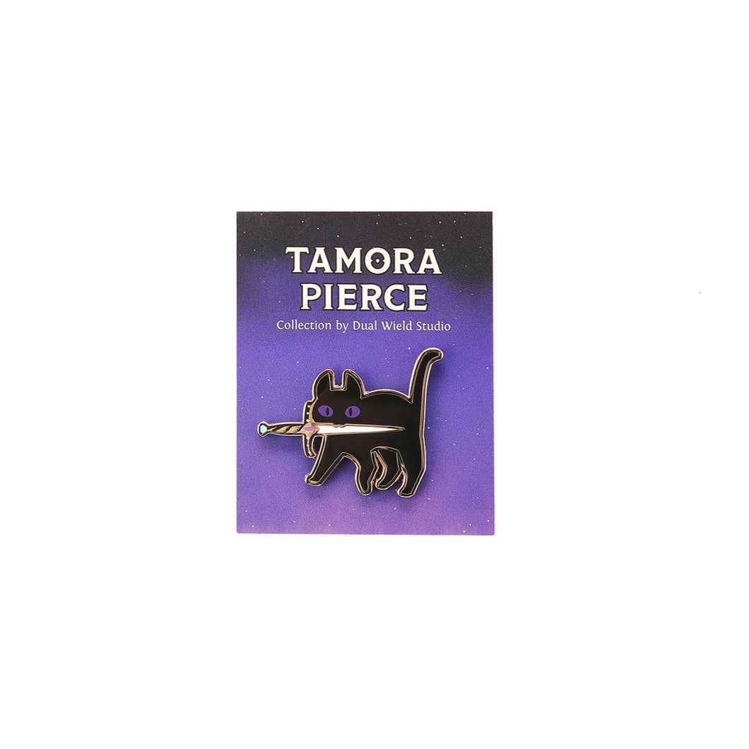 Tamora Pierce: Faithful with Sword Pin