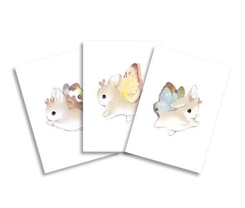 HeatherSketcheroos: New Winter Bunnerfly Prints Set