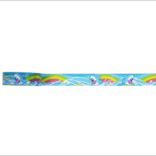 Load image into Gallery viewer, Silver Foil Surfing Shark Washi Tape by Geener/Regina Legaspi