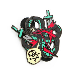 Snaek Attack Pin