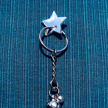 Load image into Gallery viewer, Silver Star Charm Pin