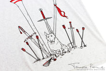 Load image into Gallery viewer, Tamora Pierce: Jump's Armory T-Shirt
