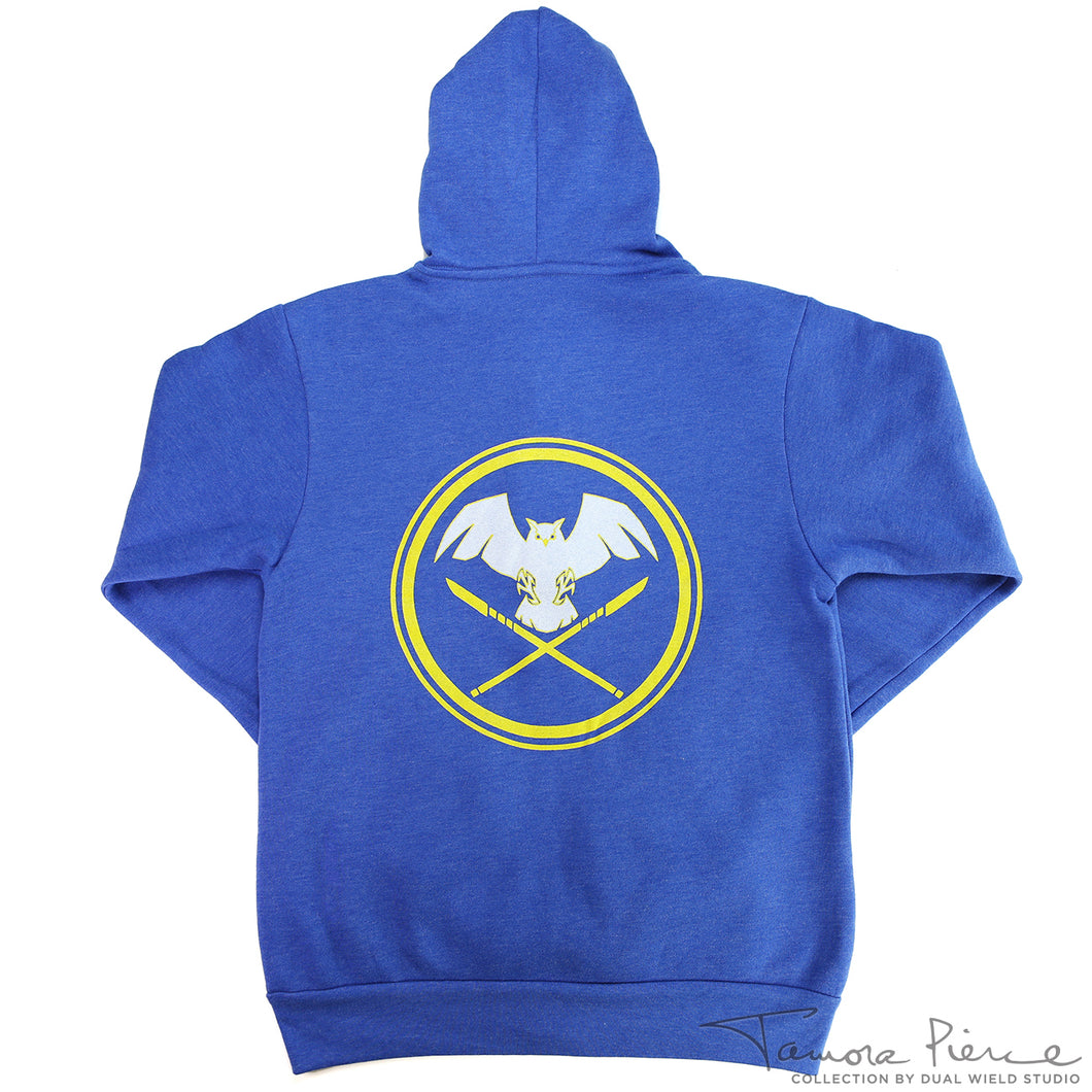 Tamora Pierce: Keladry Shield Zip-Up Hoodie