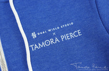 Load image into Gallery viewer, Tamora Pierce: Keladry Shield Zip-Up Hoodie