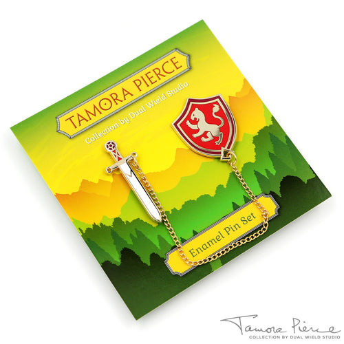 Tamora Pierce: Alanna Sword & Shield Pins