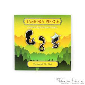 Tamora Pierce: Darking Pin Set