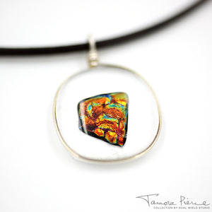 Tamora Pierce: Ember Glass Necklace (Pre-Orders Closed)