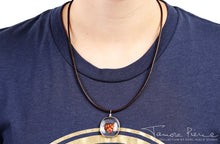 Load image into Gallery viewer, Tamora Pierce: Ember Glass Necklace (Pre-Order)