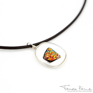 Tamora Pierce: Ember Glass Necklace (Pre-Order)