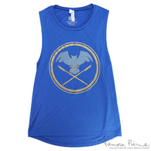 Load image into Gallery viewer, Tamora Pierce: Keladry Shield Scoopneck Tank (Limited Edition)