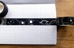 Dark Planets Washi Tape