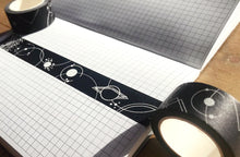 Load image into Gallery viewer, Dark Planets Washi Tape