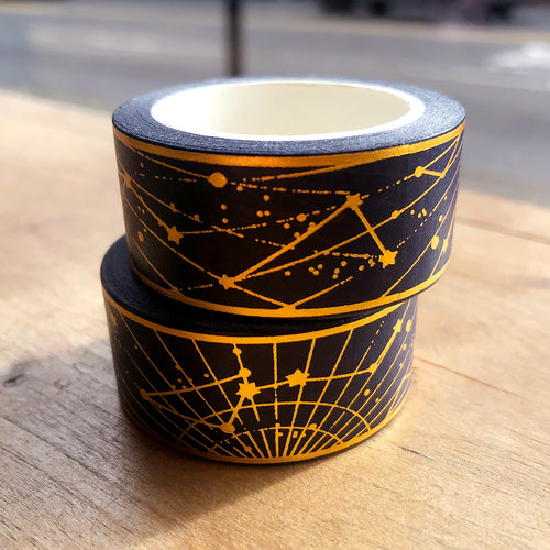 Golden Constellations Washi Tape