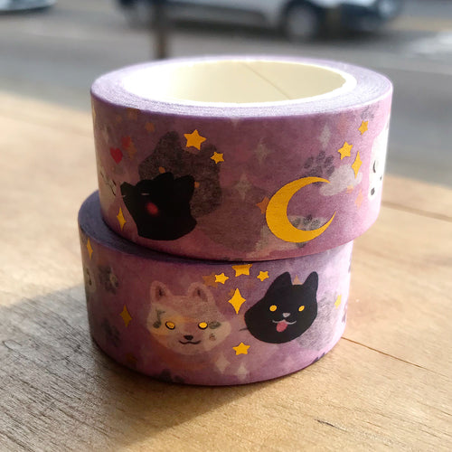 Celestial Wolves Washi Tape