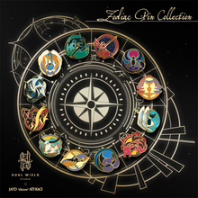 Load image into Gallery viewer, Dual Wield Studio x Jayd Aït-Kaci: Zodiac Pin Collection