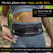 Camo Adjustable Running Belt - Build & Fitness - UK