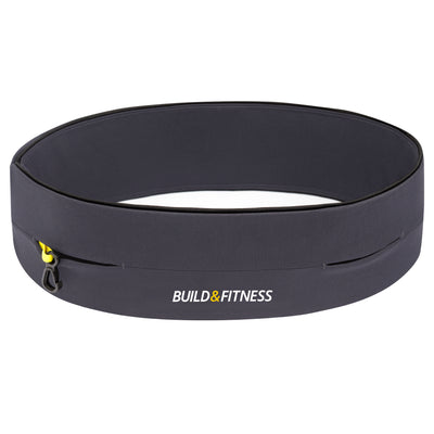 Graphite Classic Running Belt - Build & Fitness - UK