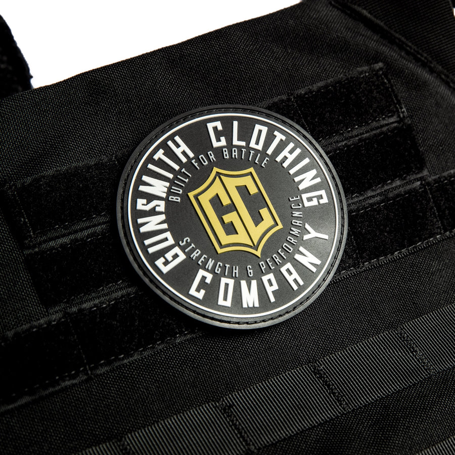 GUNSMITH STRENGTH VELCRO PATCH - BLACK